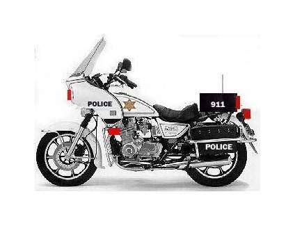 2005 Kawasaki Kz 1000 Police