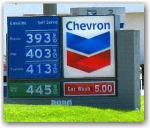 diesel prices