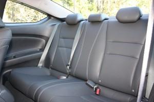 Accord back seat