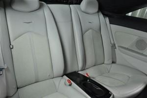 CTS-V backseat