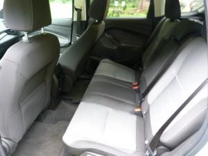 Escape backseat