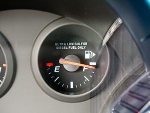 Cruze diesel gauge