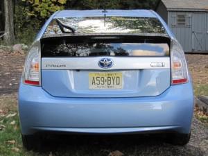 Prius rear:last