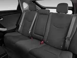 prius backseats