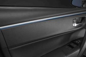 2014 Corolla trim close-up
