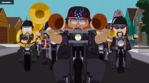 Clover Harley rider