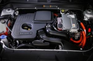 MKZ hybrid engine