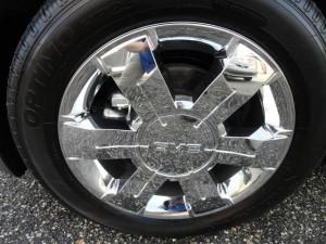 Terrain wheels
