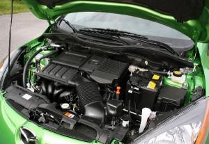 2013 Mazda2 engine