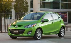 2013 Mazda2 front profile