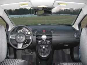2013 Mazda2 interior shot