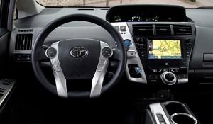 2013 Prius V dashboard picture
