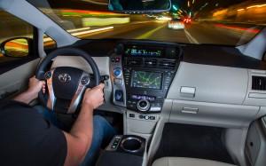 2013 Prius V road test picture