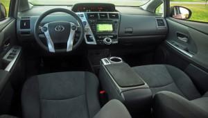 2013 Prius center console