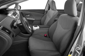 2013 Prius interior side view