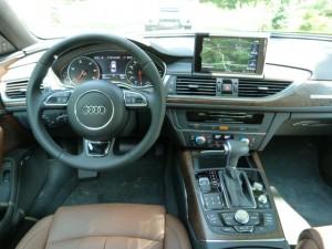 2014 A6 interior