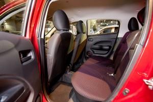2014 Mirage back seat