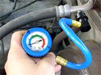 AC recharge gauge