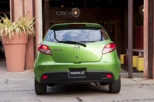 Mazda2 rearview