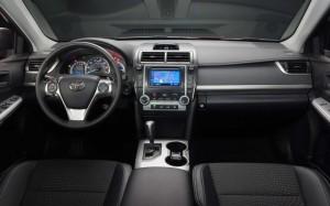 2014 Camry interior shot