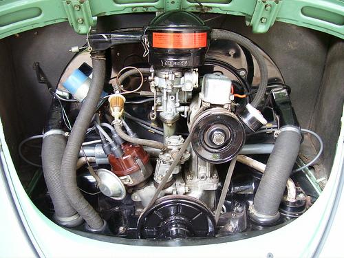 Beetle engine pic Vw Beetle Engine