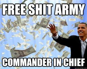 free-shit-army