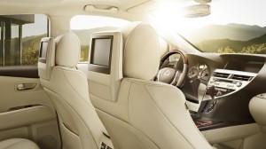 2014 RX450h interior shot
