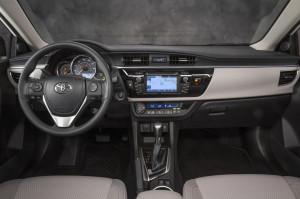 '14 Corolla interior 2