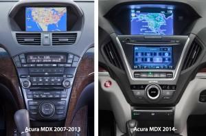 '14 MDX new vs. old