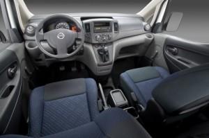 '14 NV 200 interior pic