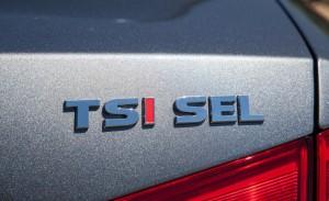 '14 Passat TSI badge