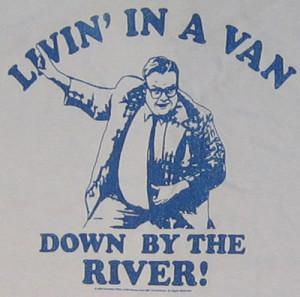 living in a van 2