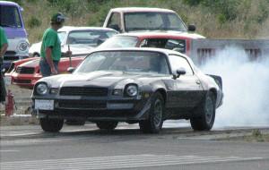 '81 Camaro burnout