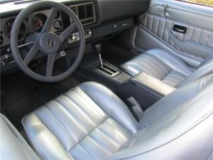 '81 Z28 interior