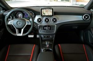 '14 CL45 interior console shifter