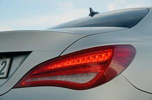 '14 CLA tail-light detail