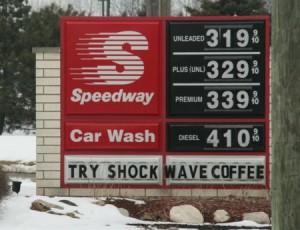 diesel fuel costs