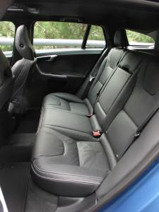 '15 V60 back seats