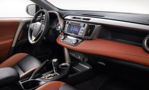 '14 RAV interior detail 3