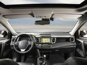 '14 RAV interior detail