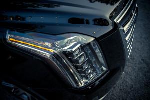 '15 Escalade headlight detail