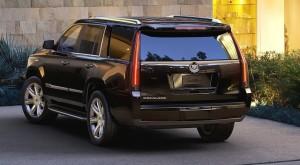 '15 Escalade rearview