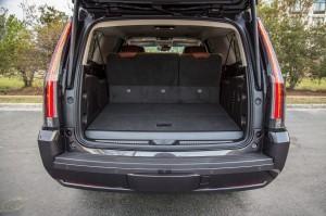 '15 Escalade trunk
