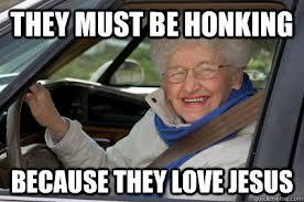 jesus honk