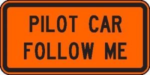 pilot car pic