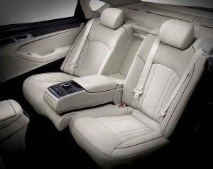 '15 Genesis back seat