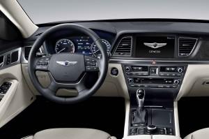 '15 Genesis interior shot