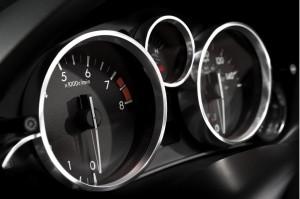 '15 Miata gauges close up