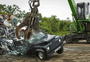 Land Rover Destruction
