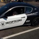 Maserati cop car